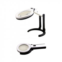 Portable Magnifying LED Lamp