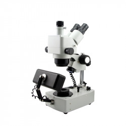 10X-80X Jewelry Gem Trinocular Stereo Mocrpspcpes