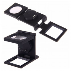 10X Magnifier Magnify Loupe Folding Type