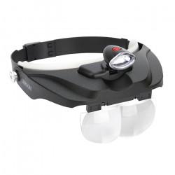 Super Head Loupe Magnifier & 4 Lens