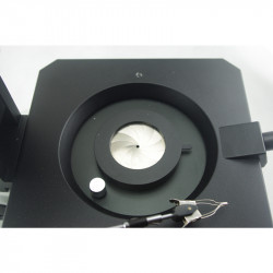 GEM STEREO MICROSCOPE STAND WITH DARKFIELD STAGE TRANSMITTED