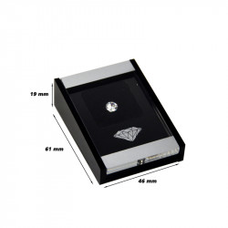Acrylic Gem Box with Magnetic