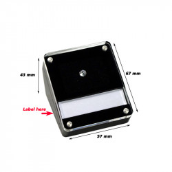 Deluxe Diamond Display Box with Magnetic Cover