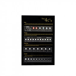 """Acryl """"Diamond 4C's"""" Display Stand-Black color"""