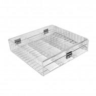 Acrylic Parcel Box 3 Section
