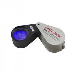 Daylight LED & U.V Loupe 20x Triplet