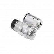 Jeweller LED 45x Magnifier Mini pocket zoom Microscope--DayLight