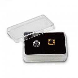Rectangular Acrylic Gemstone Container-L size