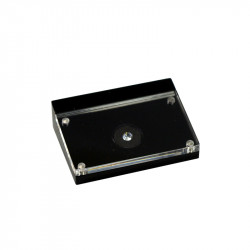 Stylish Single Diamond Display Box With Magnetic Cover
