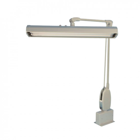 Clamp-on Fluorescent Lamp