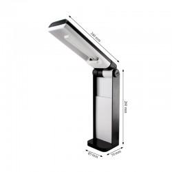 Black Folding Lamp-9W fluorescent