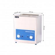 Stainless Steel Ultrasonic Cleaner-Volume 4L