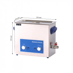 Stainless Steel Ultrasonic Cleaner-Volume 5.7L