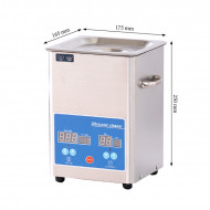 Stainless Steel Ultrasonic Cleaner-Touch Screen-Volume 2.5L