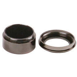 Metal Gem Stone Jar