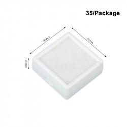 Plastic Box-White-Small Size-30*30mm
