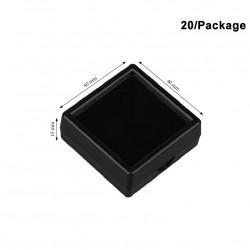 Plastic Box-Black-Medium size-40*40mm