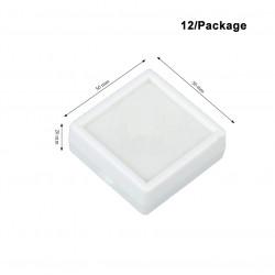 Plastic Box-White-Large size-50*50mm
