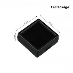 Plastic Box-Black -Large size-50*50mm